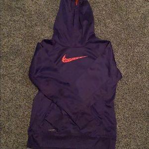Girls purple Nike sweatshirt!
